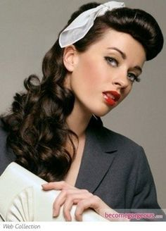 50s Hairstyles Ideas To Look Classically Beautiful The White