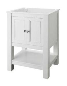 Home decorators collection gazette in    bath vanity cabinet only white also rh za pinterest