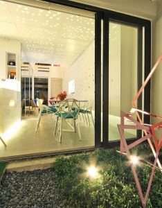 Burst of colors house by buensalido architects philippines also townhouse interior design pinterest rh