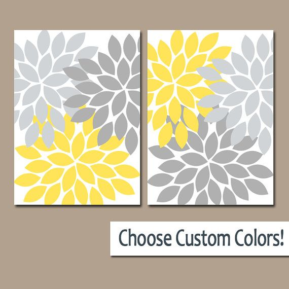 Love print yellow gray printable nursery canvas art wall decor kids bedroom   instant download kid also rh pinterest