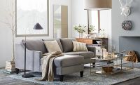 I love the West Elm Mixed Metallics Living Room on westelm ...