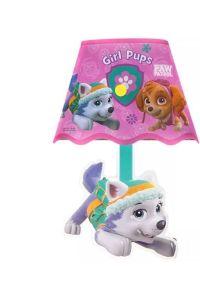 Paw Patrol Lamp Shade Kids Night Light Bedside Skye Pink ...