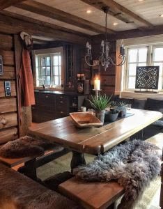 Rustic style decor mountain living homes log cabins cabin fever interiors dream also pin by emily guerrero on pinterest logs and rh