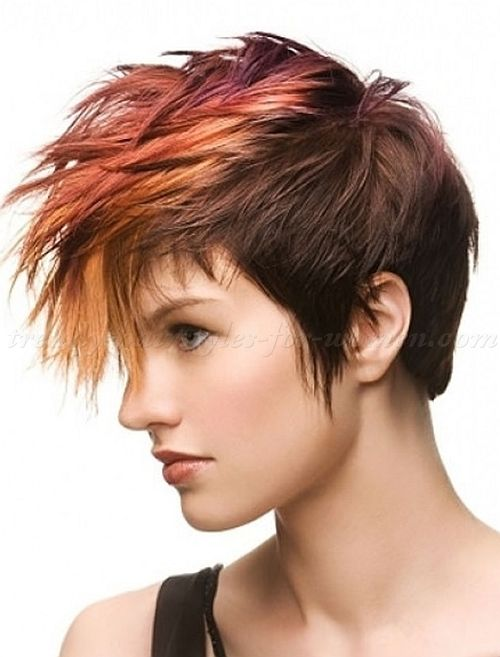 Short Hairstyles 2015 Short Haircut Mohawk Hairstyle For Women