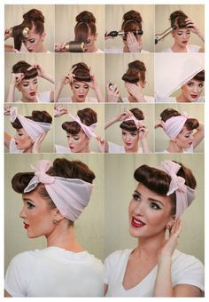 Coiffure Pin Up Comment Faire ? Frisur