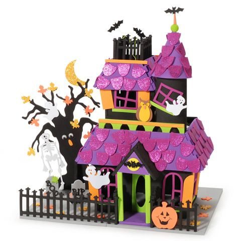 Craft Haunted House Halloween Crafts And Supplies Halloween