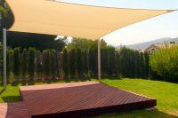shading your patio | ... Sun Sails  versatile patio sun ...