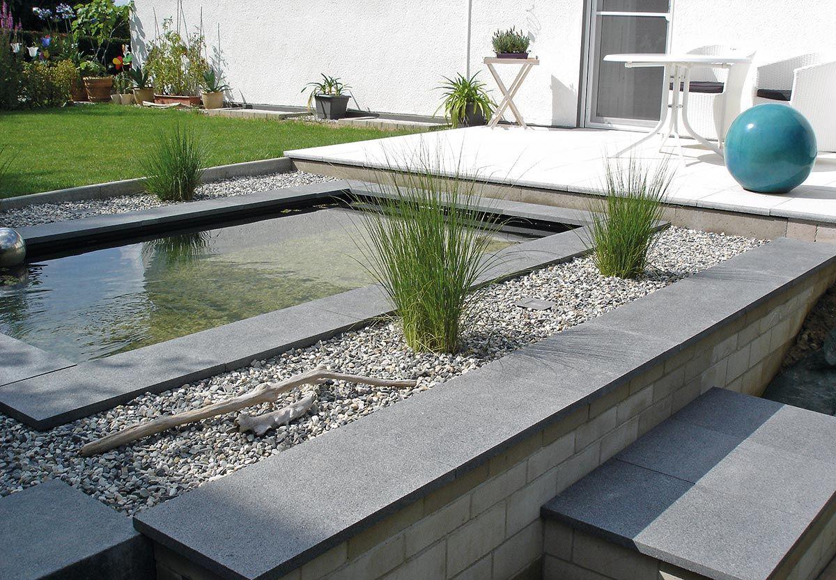 url gfk wasserbecken mit wasserfall im garten anlegenwasserbecken, Garten und erstellen
