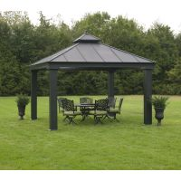 Hardtop gazebo | Poolside ideas | Pinterest | Sam's club ...