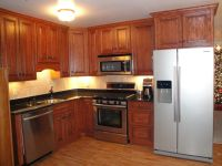 dark oak kitchen lahy dark oak kitchen: wood cabinet ...