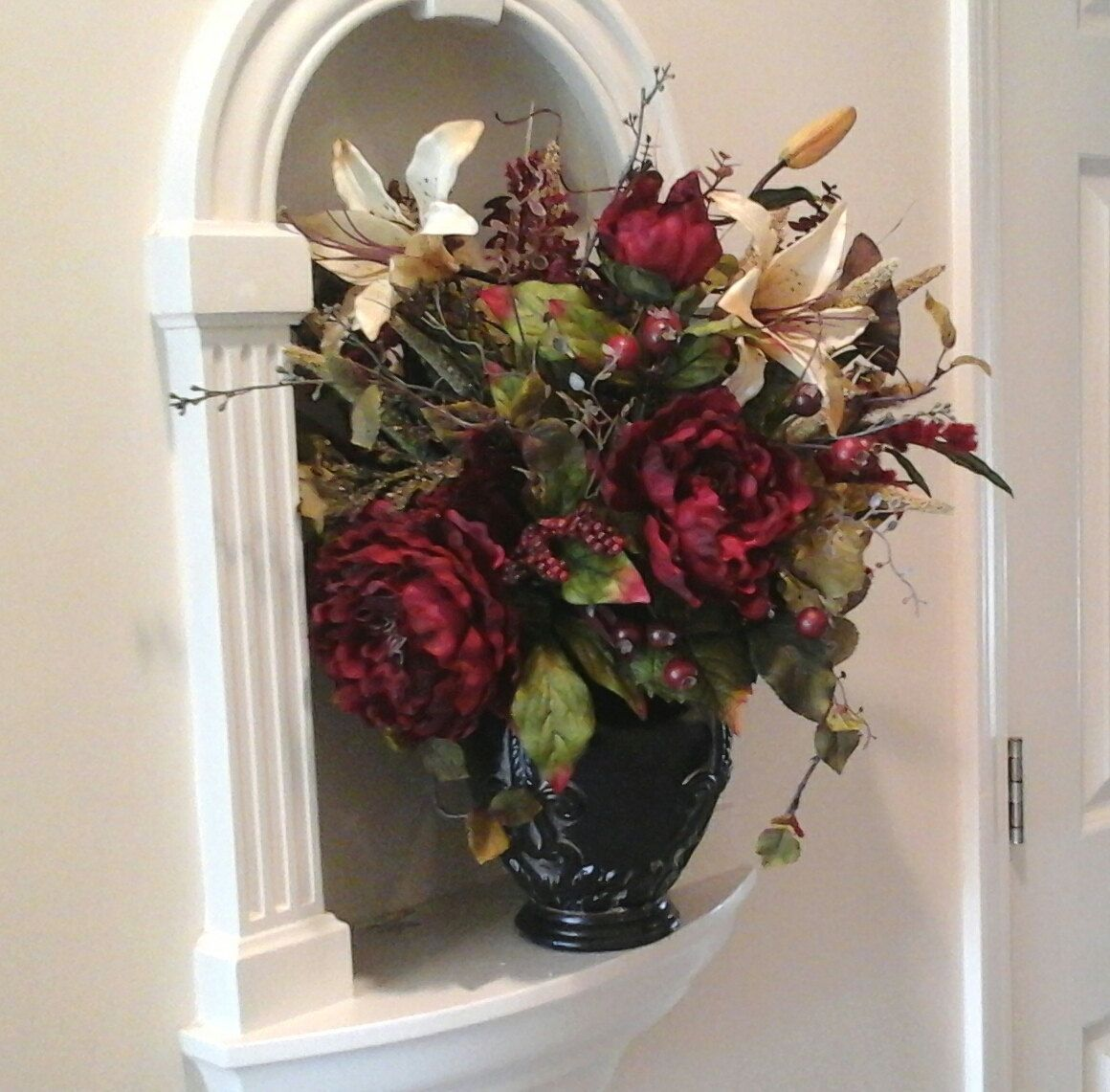Floral Arrangement, SHIPPING INCLUDED, Floral Centerpiece