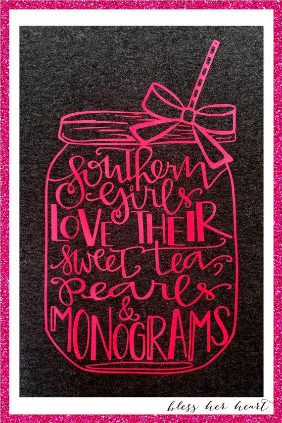 sweet tea monograms