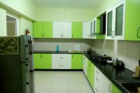 Kitchen : Awesome Green Kitchen Cabinet White Texture