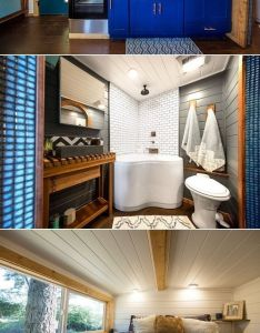 Luxury thow tiny house on wheels with adventure outside country charm inside bathtubs pinterest and houses also rh