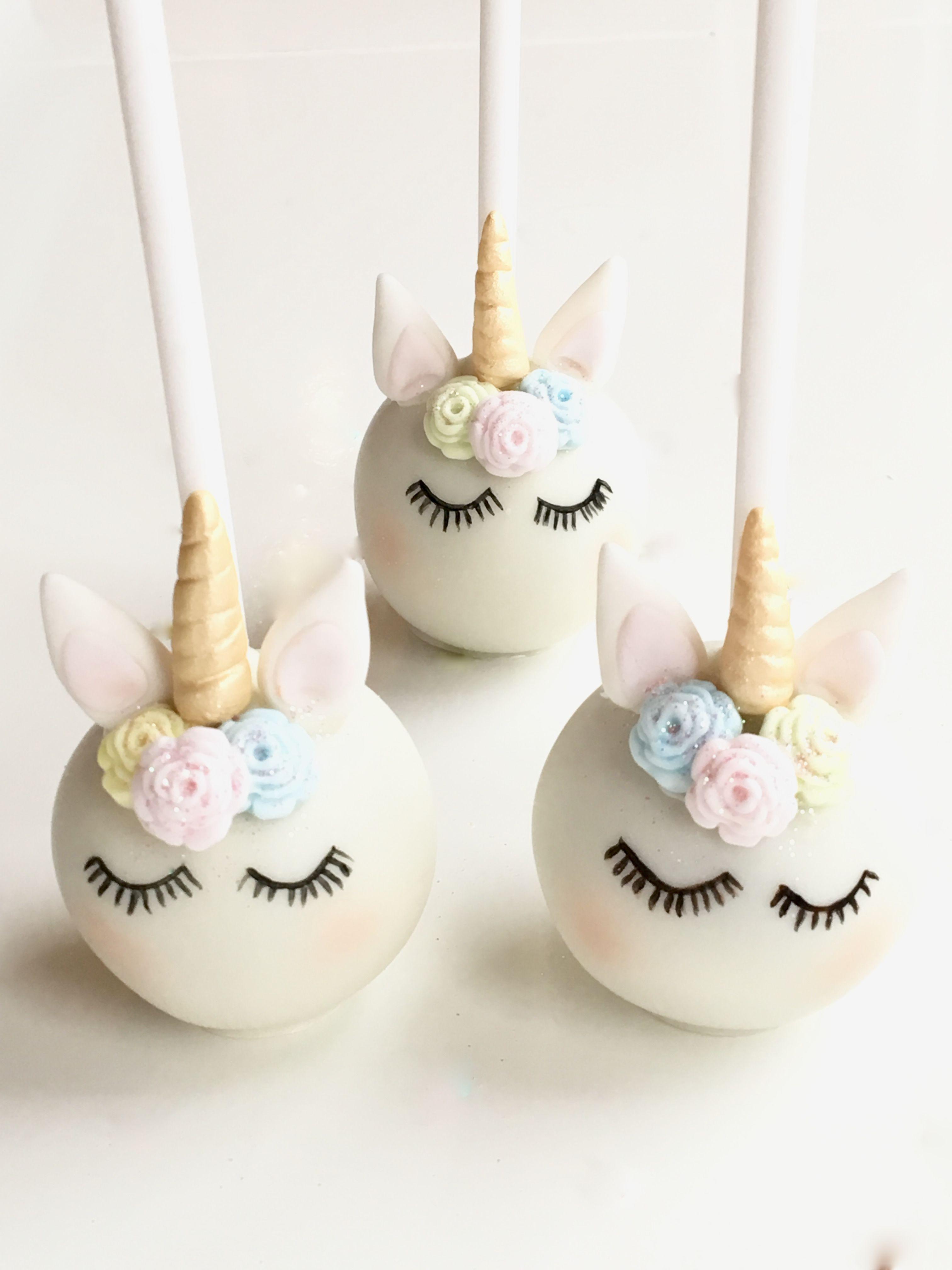 Best 25 Unicorn Cake Pops Ideas