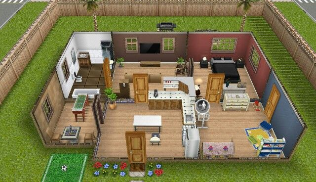 Sims Freeplay Earth Tones House Sims Freeplay House Ideas