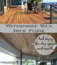 Deck Waterproofing | Front porches, Decking and Porch