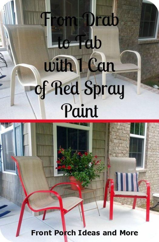 Spray Paint Chair Ideas