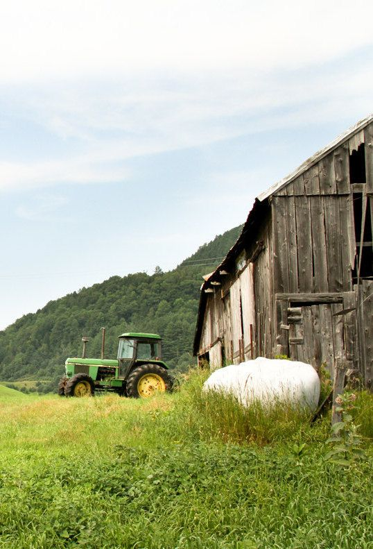 Barn  John Deere Tractor  Farming  Pinterest  More Tractor Barn and Farming ideas