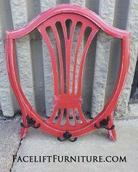 Chair Backs Repurposed into Coat Racks | Coat racks ...