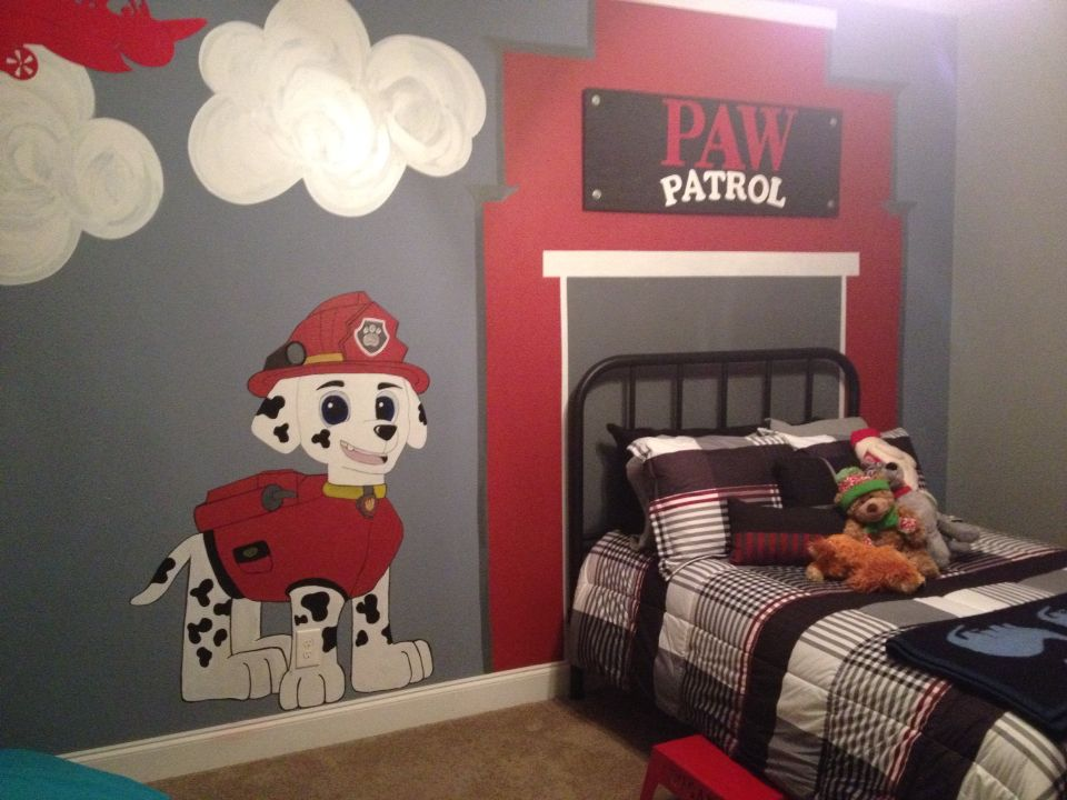 Paw patrol room for my son  This is my life