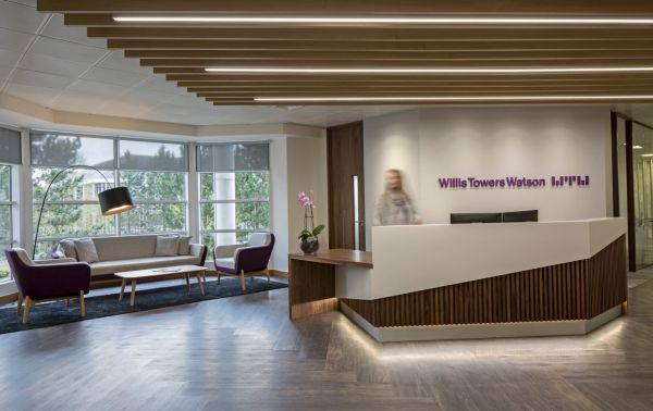 Willis Towers Watson - Welwyn Garden City. Copyright Workplace Creations . #wpclondon #