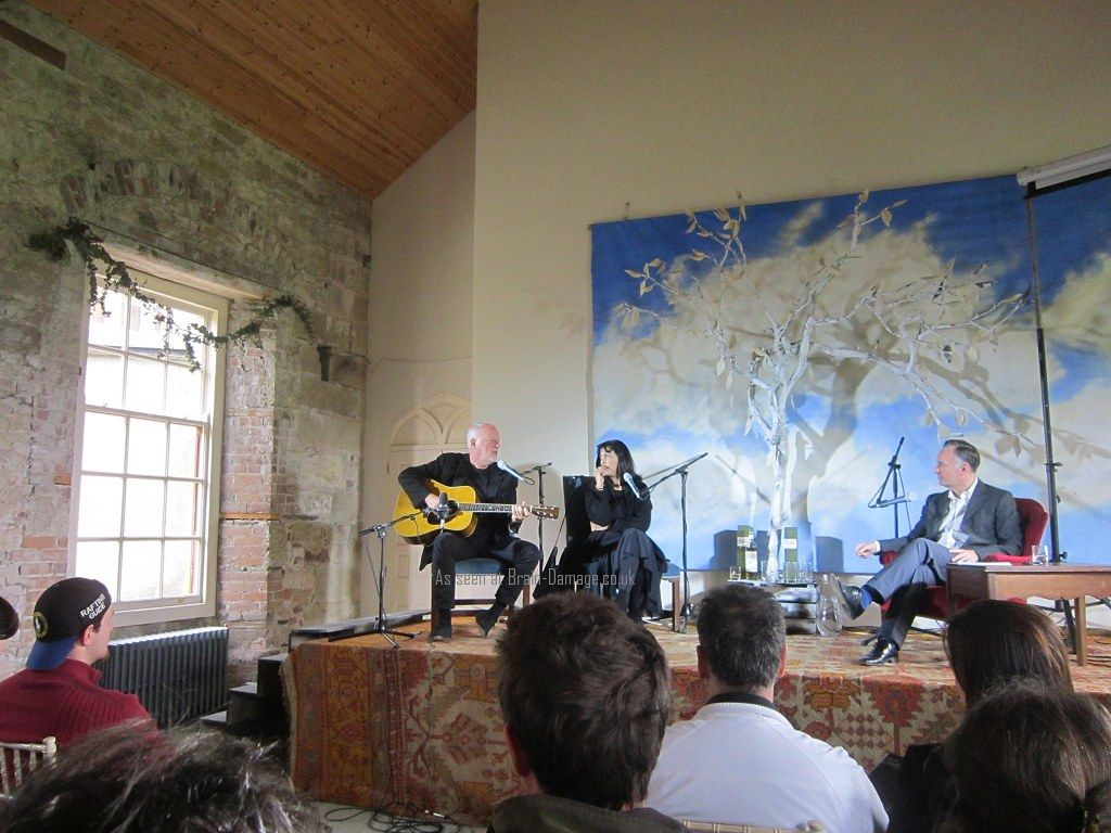 David Gilmour And Polly Samson At 2015 Borris House Festival Of