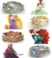 Rings inspired by the Disney Princesses - Part III Tiana ...