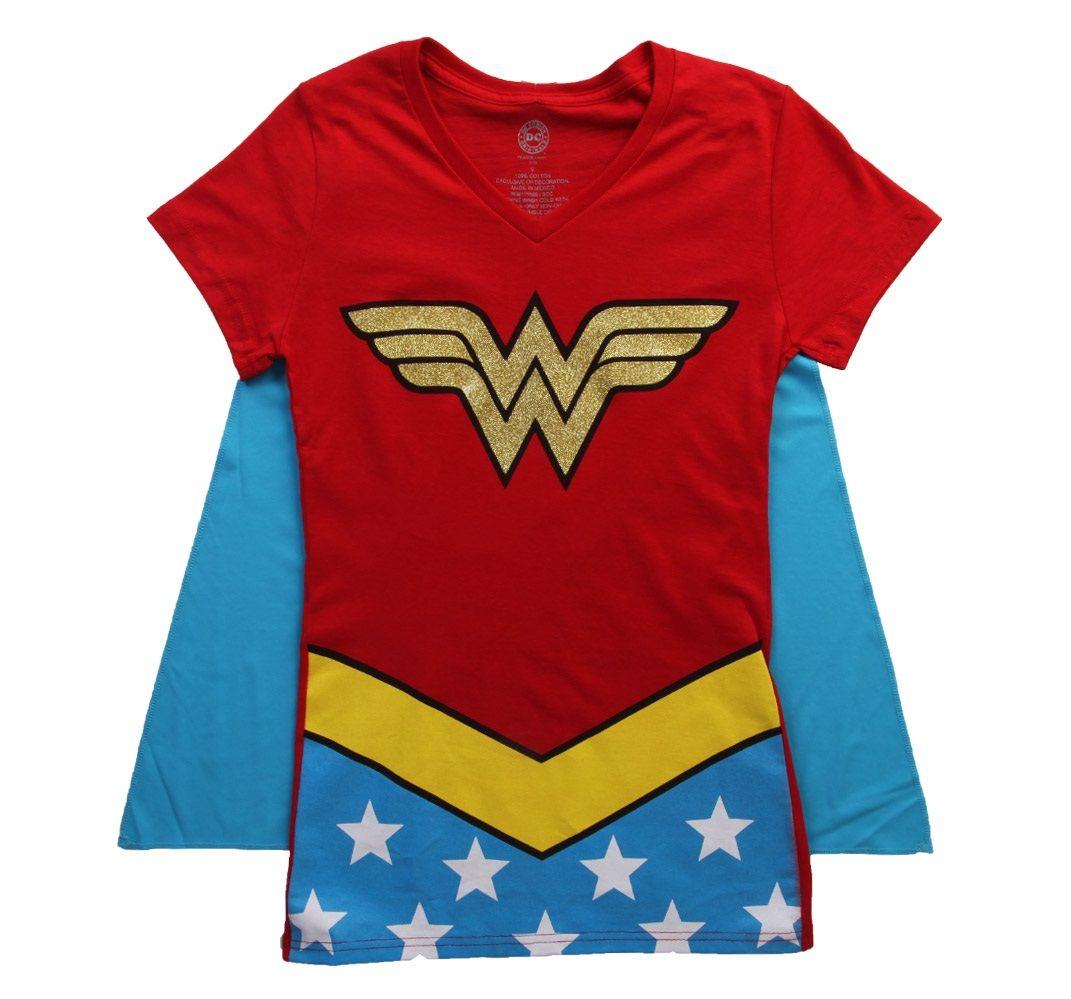 Wonder Woman Gold Foil Shirt