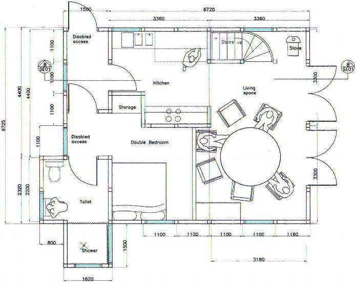 Wheelchair Accessible Floor Plans New New Ground Floor