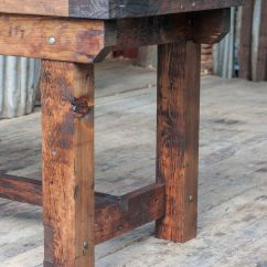 Kitchen Island Rustic Back Splash Industrial Vintage Style Timber Work Bench Or Desk