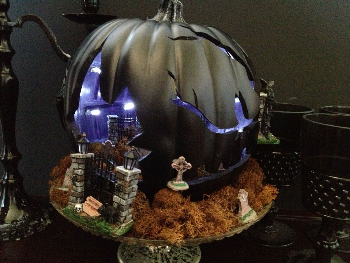 Haunted House Pumpkin 6 1 200×900 Pixels Halloween Ideas