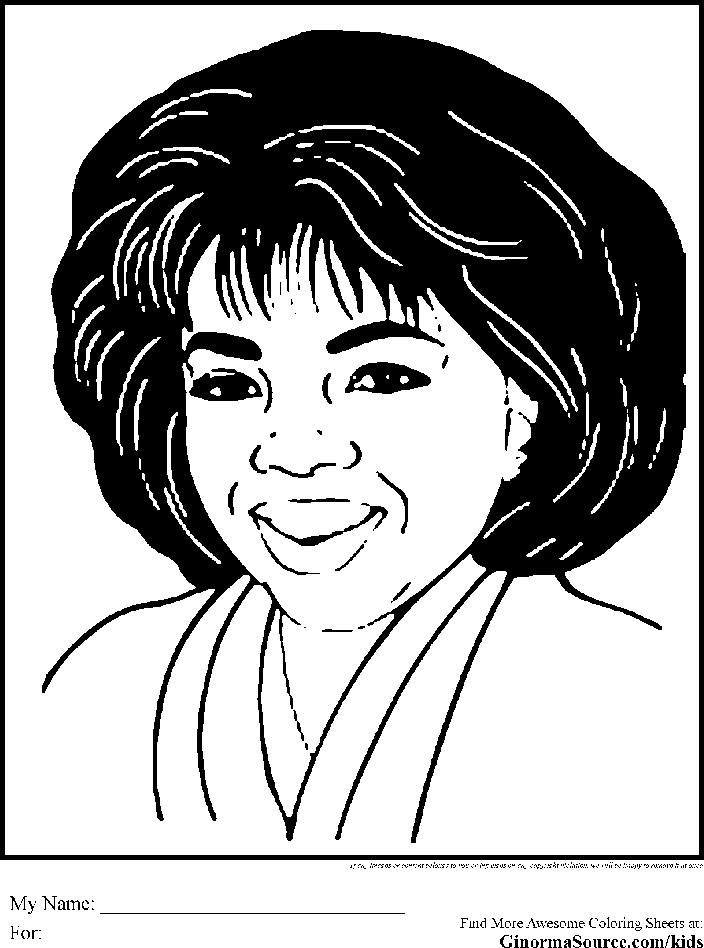 Black History Coloring Pages Oprah