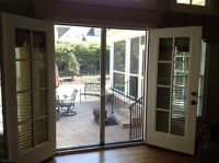 French Patio Doors with Screens, Doors for cool weather ...