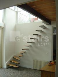 floating corner stairs | Stairs | Pinterest | Corner ...