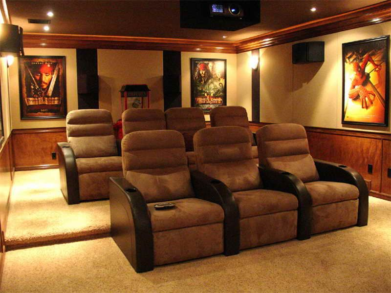 Small Theater Room Ideas Small Home Theatre Design Winning