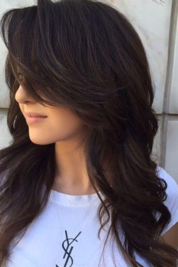 30 V Cut Long Hairstyles Bangs Hairstyles Ideas Walk The Falls