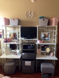 College dorm room organizer @containerstore Texas A&M ...