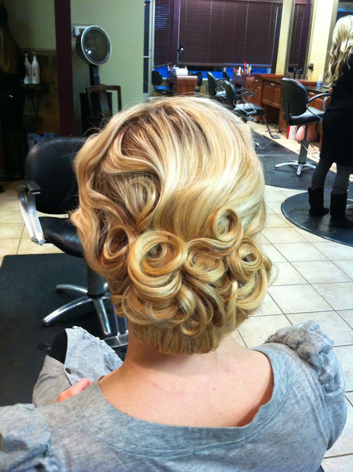 vintage pin curls diagram 2000 chevy s10 tail light wiring curl updo on pinterest pentecostal hairstyles