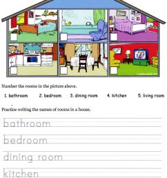 House Material Worksheet   Printable Worksheets and Activities for  Teachers [ 1600 x 1228 Pixel ]