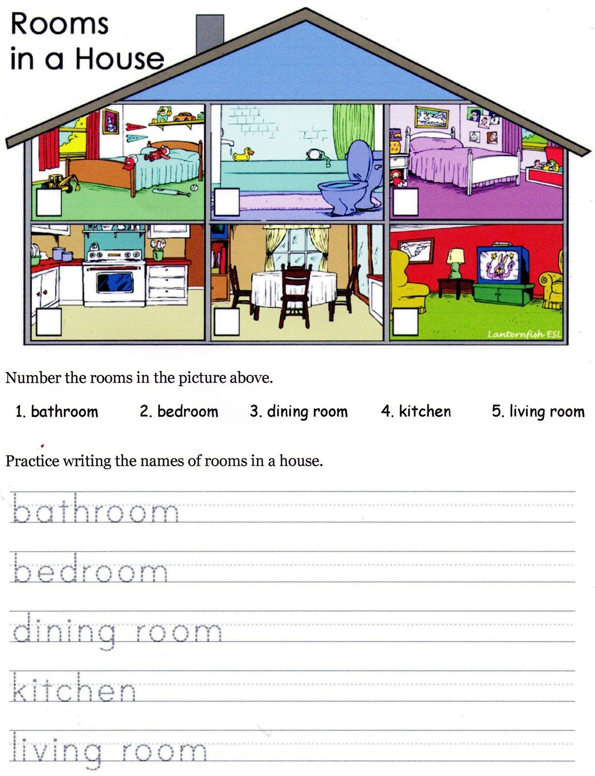 hight resolution of House Material Worksheet   Printable Worksheets and Activities for  Teachers
