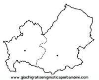 valle d'osta regioni da colorare | map-molise disegni da ...