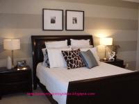 bedroom paint stripe | Bedroom Painting Ideas: Bedroom ...