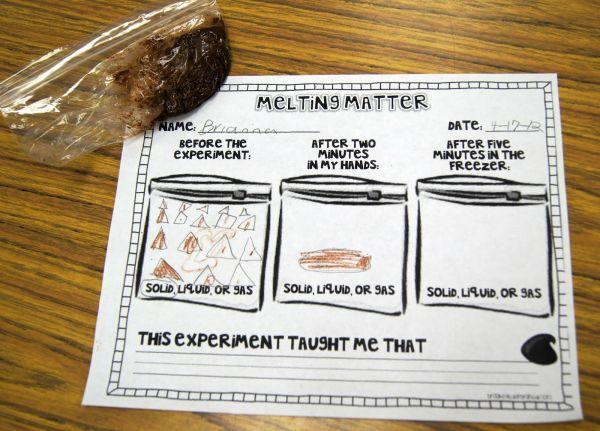 Melting Matter - Changing States Of With Chocolate