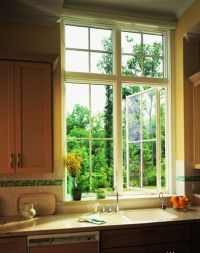 400 Series Casement window with transoms | Windows ...