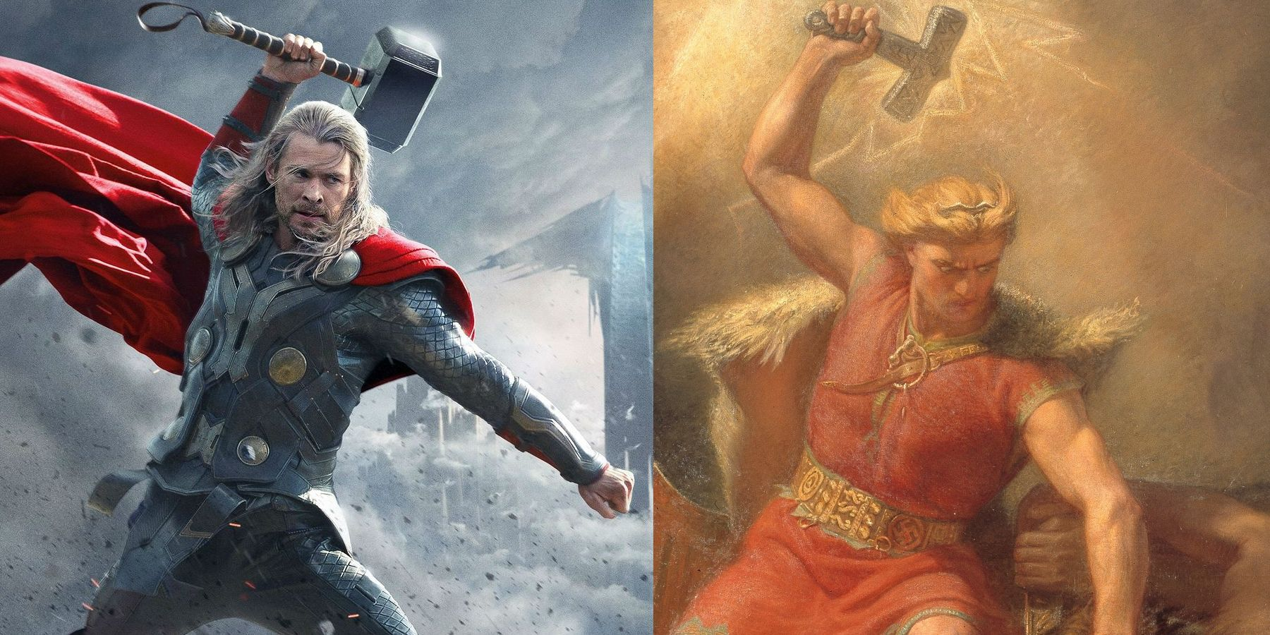 Marvel S Thor And The Rest Of Asgard Have Roots In Norse