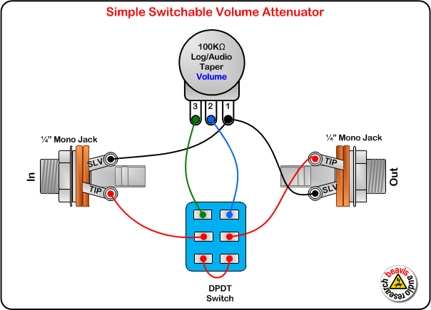 Switchable Volume Attenuator Wiring Diagram Amplifiers