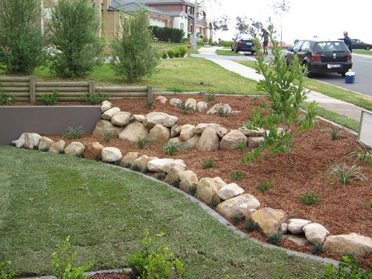 Sandstone Rock Garden Living Edge Landscapes Of Sydney Australia