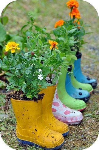 Cute Garden Ideas And Garden Decorations Gardens Planters And