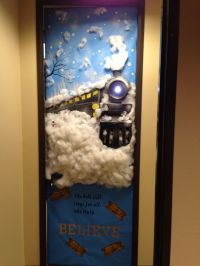 My office door. Polar Express! | asincleair | Pinterest ...